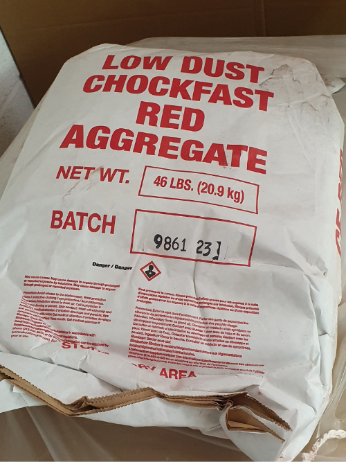 UK Marine Resins - Chockfast Red Aggregate