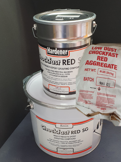 UK Marine Resins - Chockfast Red SG